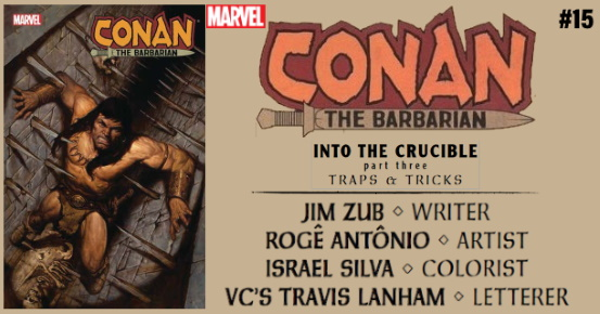 CONAN THE BARBARIAN #15 preview feature