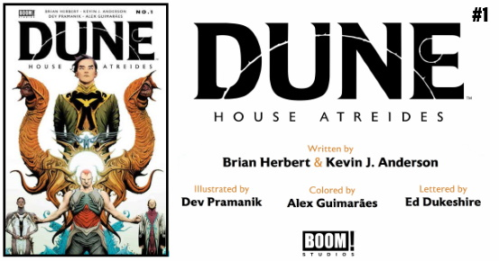 DUNE House Atreides #1 preview feature