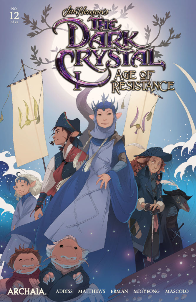 Jim Henson's THE DARK CRYSTAL: Age of Resistance #12 - Main Cover