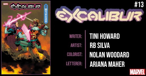 EXCALIBUR #13 preview feature