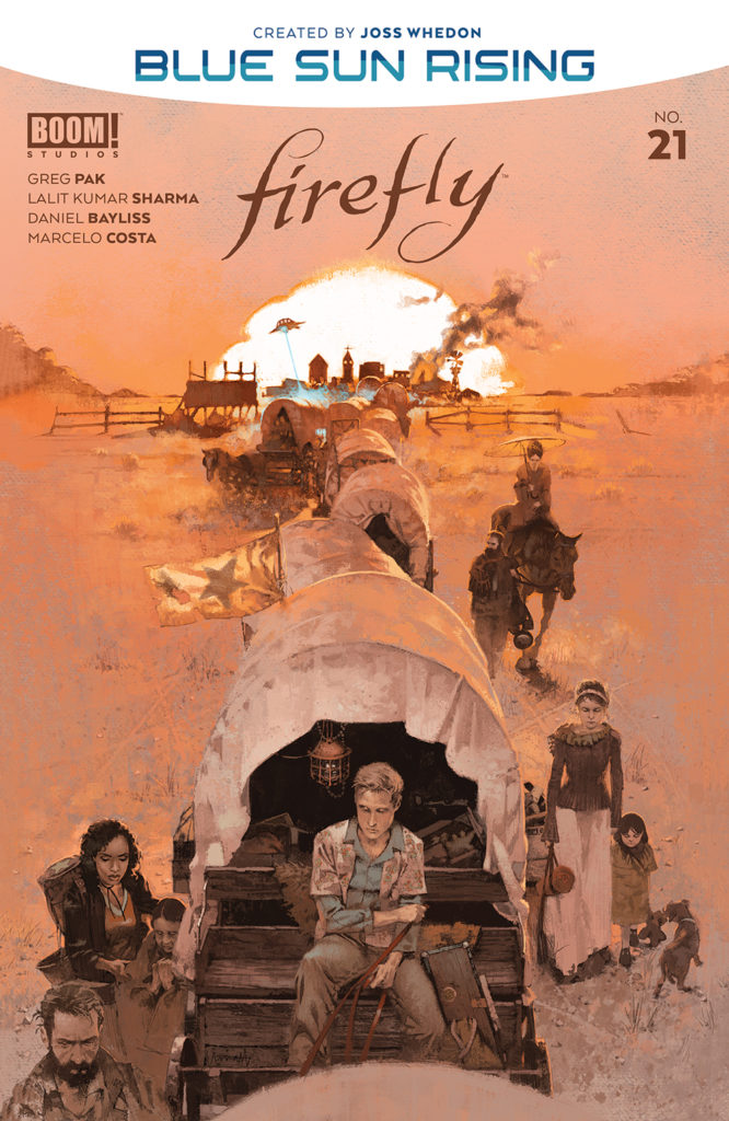 FIREFLY #21 - Main Cover