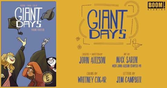 GIANT DAYS Vol. 14 TPB preview feature