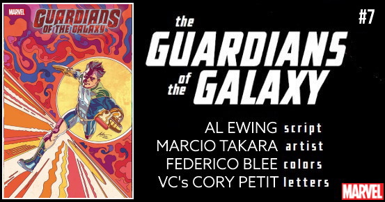 GUARDIANS OF THE GALAXY #7 preview feature
