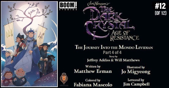 Jim Henson's THE DARK CRYSTAL Age of Resistance #12 preview feature