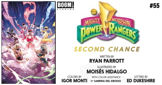 MIGHTY MORPHIN POWER RANGERS #55 preview feature