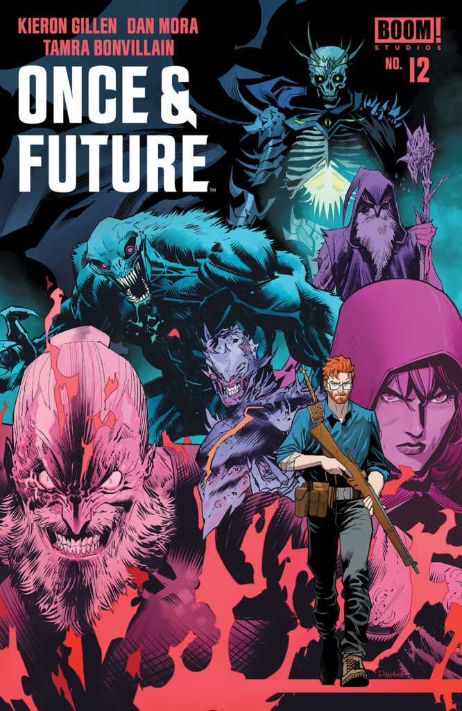Once & Future #12 - Main Cover