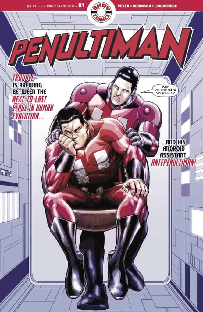 PENULTIMAN #1 - Main Cover