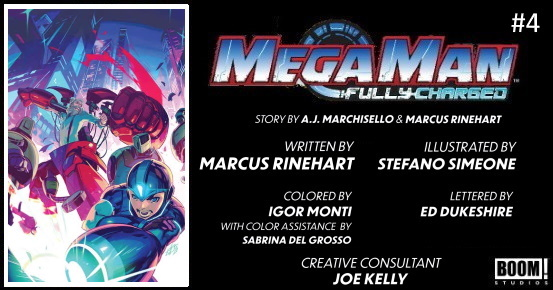 MEGA MAN Fully Charged #4 preview feature 1
