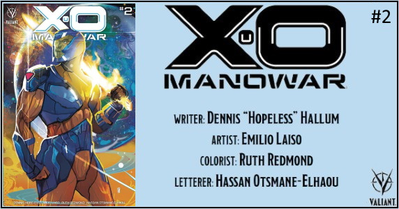X-O MANOWAR #2 preview feature