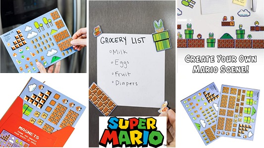 mario magnets feature
