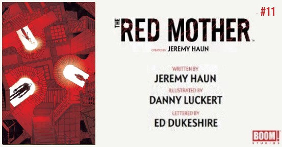 THE RED MOTHER #11 preview feature