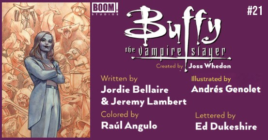 BUFFY THE VAMPIRE SLAYER #21 preview feature
