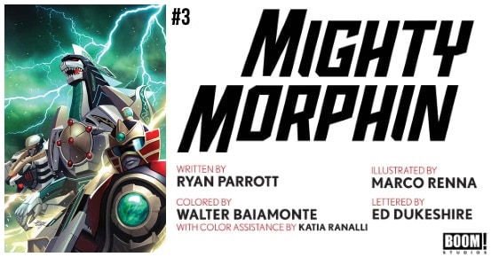 MIGHTY MORPHIN #3 preview feature