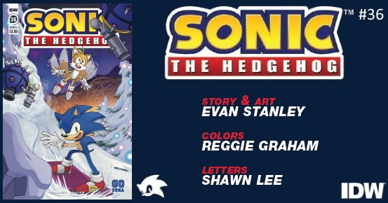 SONIC THE HEDGEHOG #36 preview feature