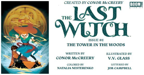 THE LAST WITCH #1 preview feature