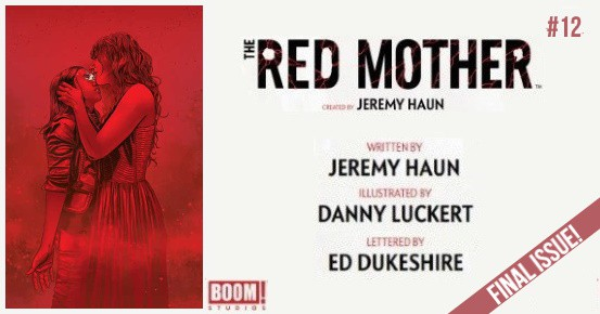 THE RED MOTHER #12 preview feature