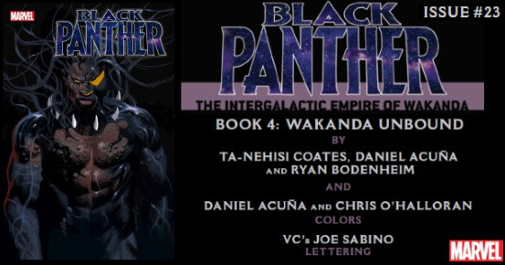 BLACK PANTHER #23 preview feature