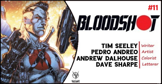 BLOODSHOT #11 preview feature