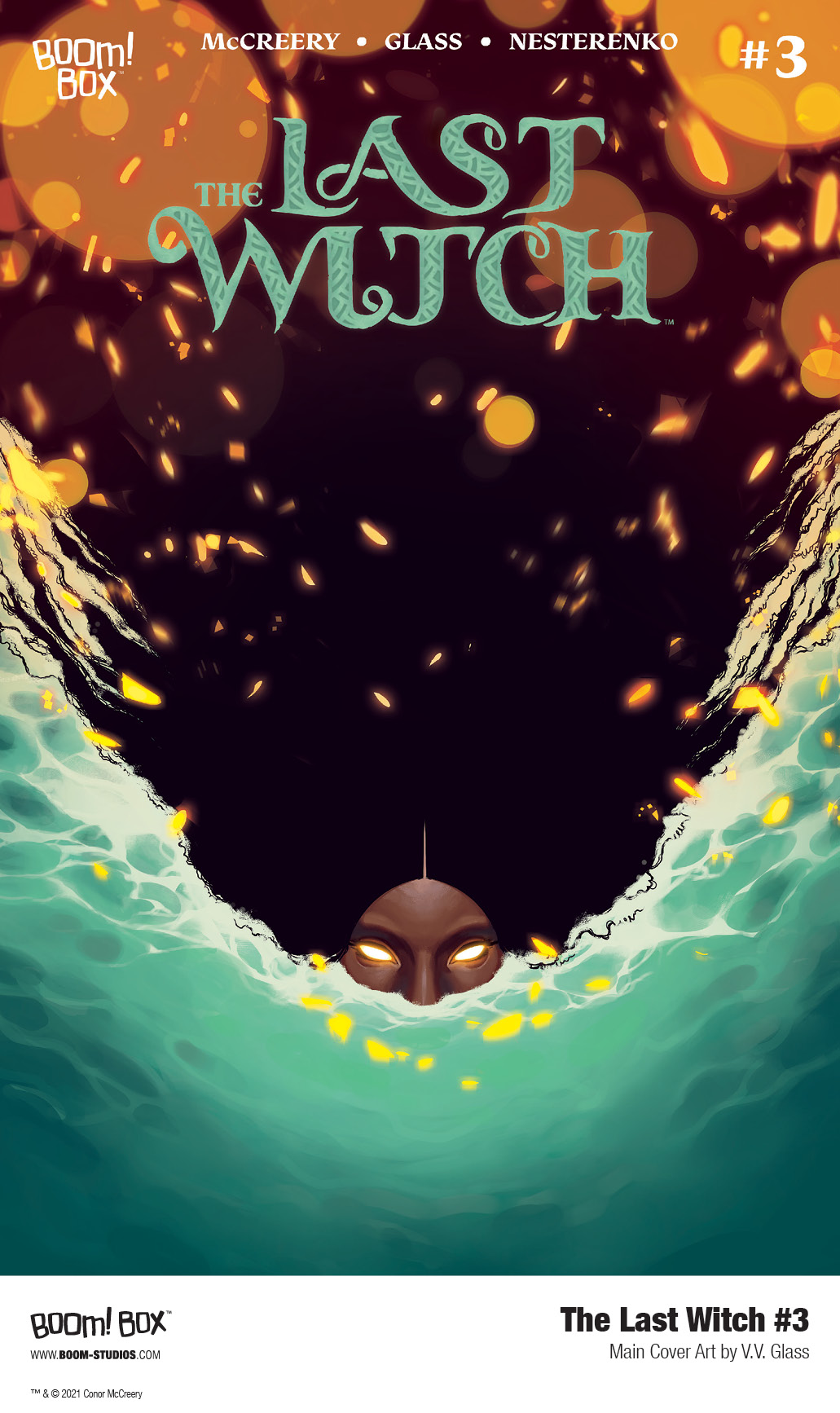 THE LAST WITCH #3 - Main Cover