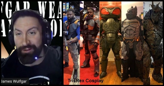 Lowering the Bar TrisRex Cosplay