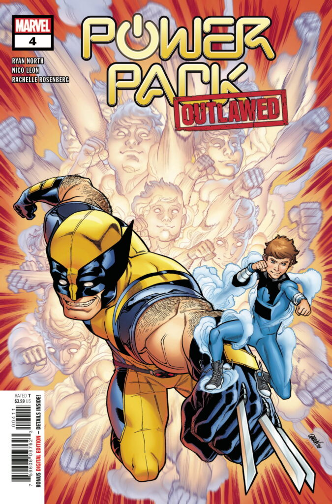 Power Pack #4 cover