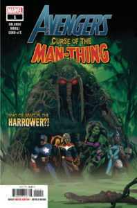 Avengers Curse Of The Man-Thing #1 - Cover A