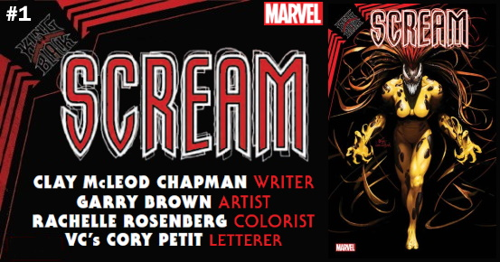 KING IN BLACK Scream #1 preview feature