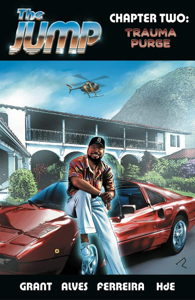 THE JUMP #2 - Magnum P.I. Variant Cover