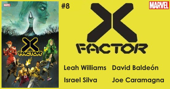 X-FACTOR #8 preview feature