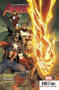 Avengers #44 - Cover A