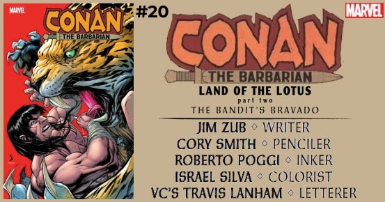 Conan The Barbarian #20 preview feature