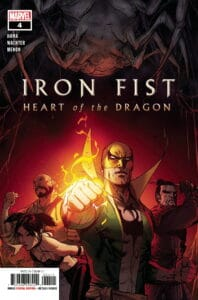 IRON FIST: Heart of the Dragon #4 - Cover A