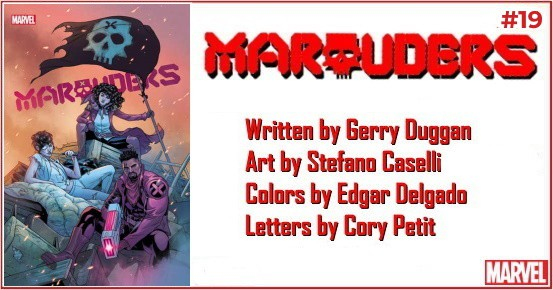 MARAUDERS #19 preview feature