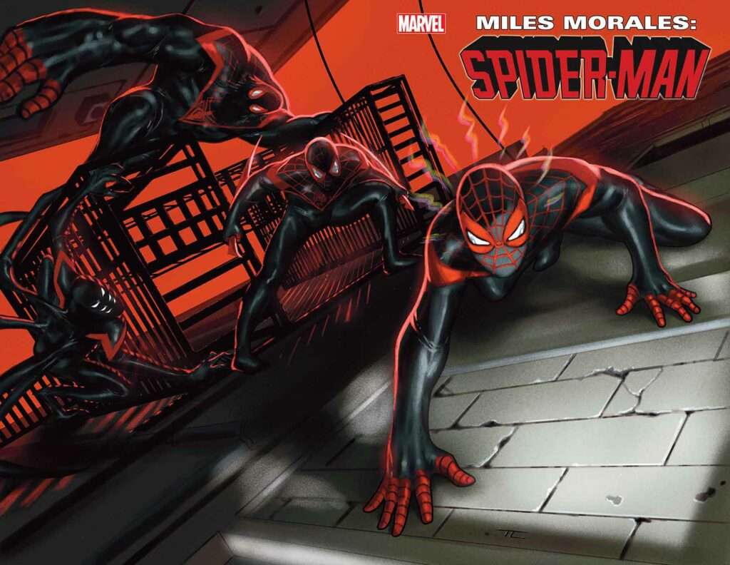 MILES MORALES: SPIDER-MAN #25 - Cover A