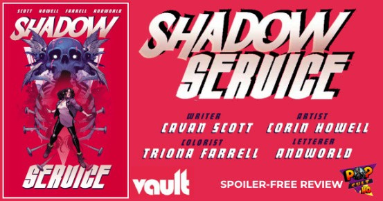 SHADOW SERVICE Vol. 1 TPB review feature