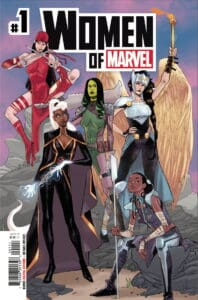 WOMEN OF MARVEL #1 - Cover A