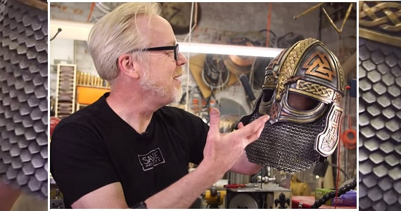 Adam savage scale maille