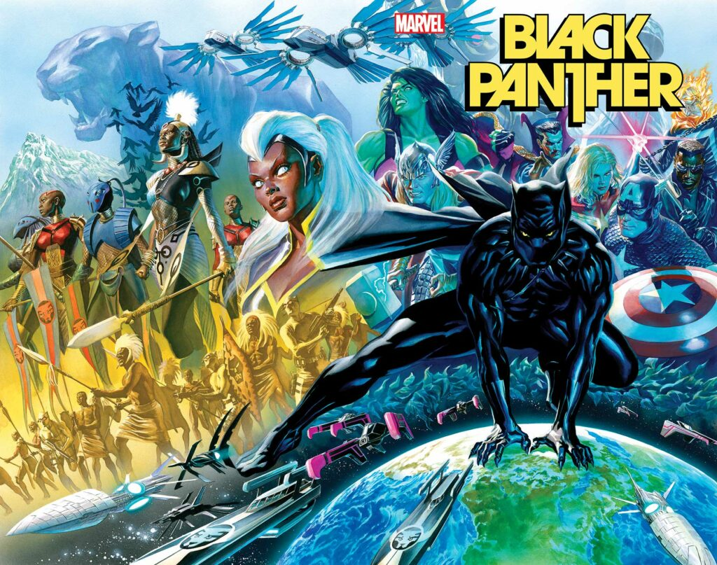 BLACK PANTHER #1 - Main Cover