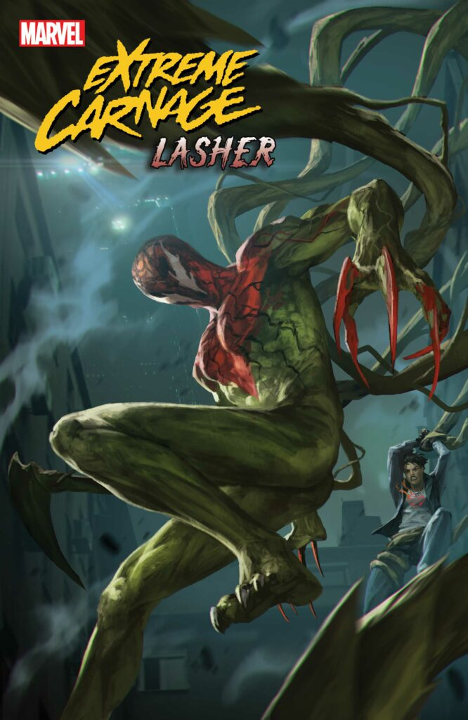 EXTREME CARNAGE: Lasher #1 - Main Cover