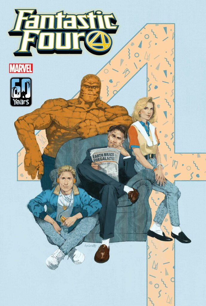 FANTASTIC FOUR: Life Story #3 - Aspinall Variant Cover