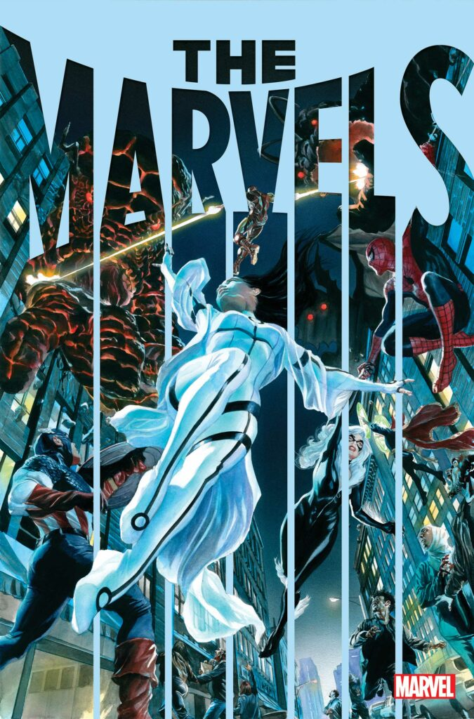THE MARVELS - Main Cover