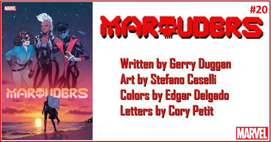 MARAUDERS #20 preview feature