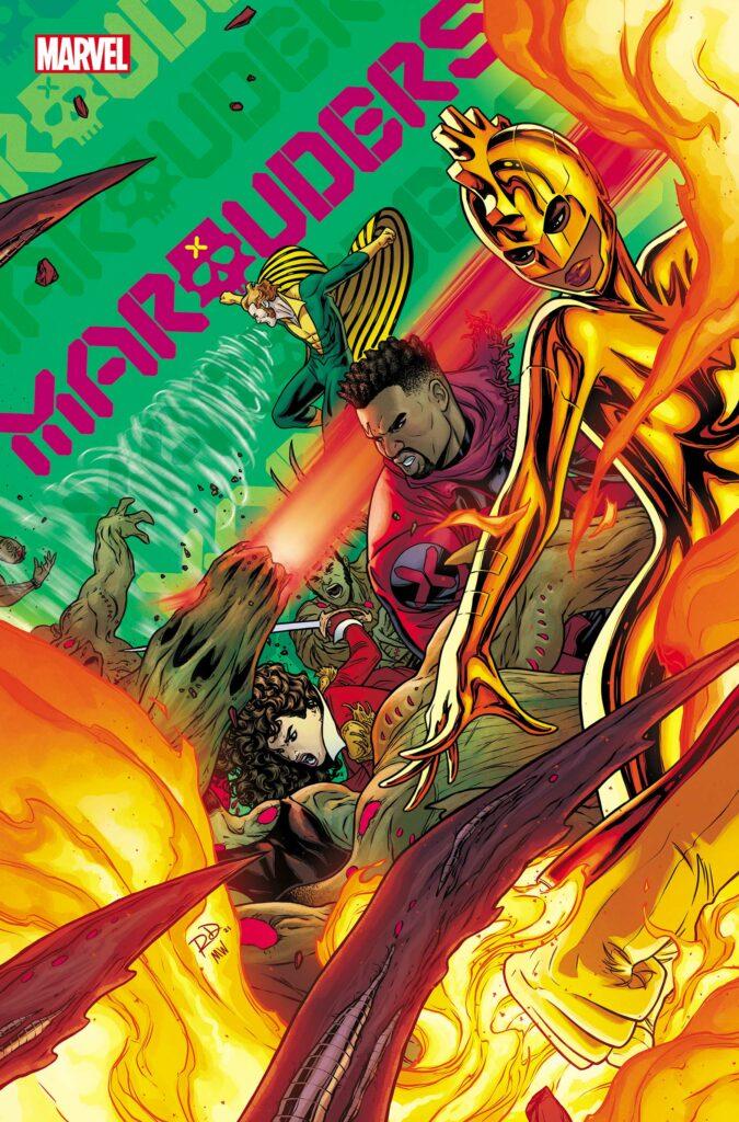 MARAUDERS #23 - Main Cover