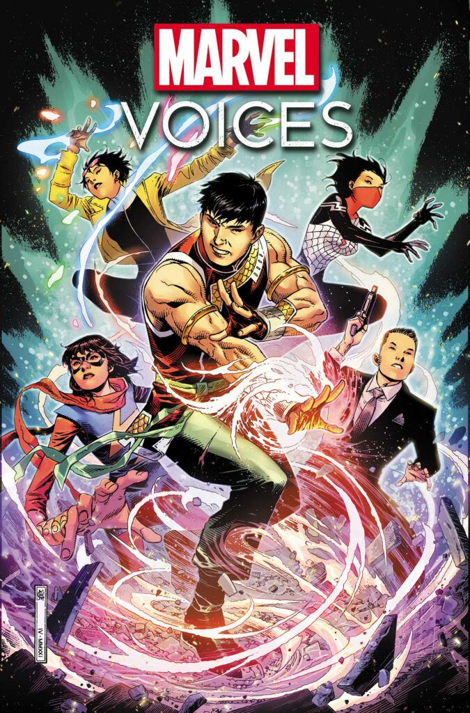 MARVEL'S VOICES: IDENTITY #1 - Main Cover