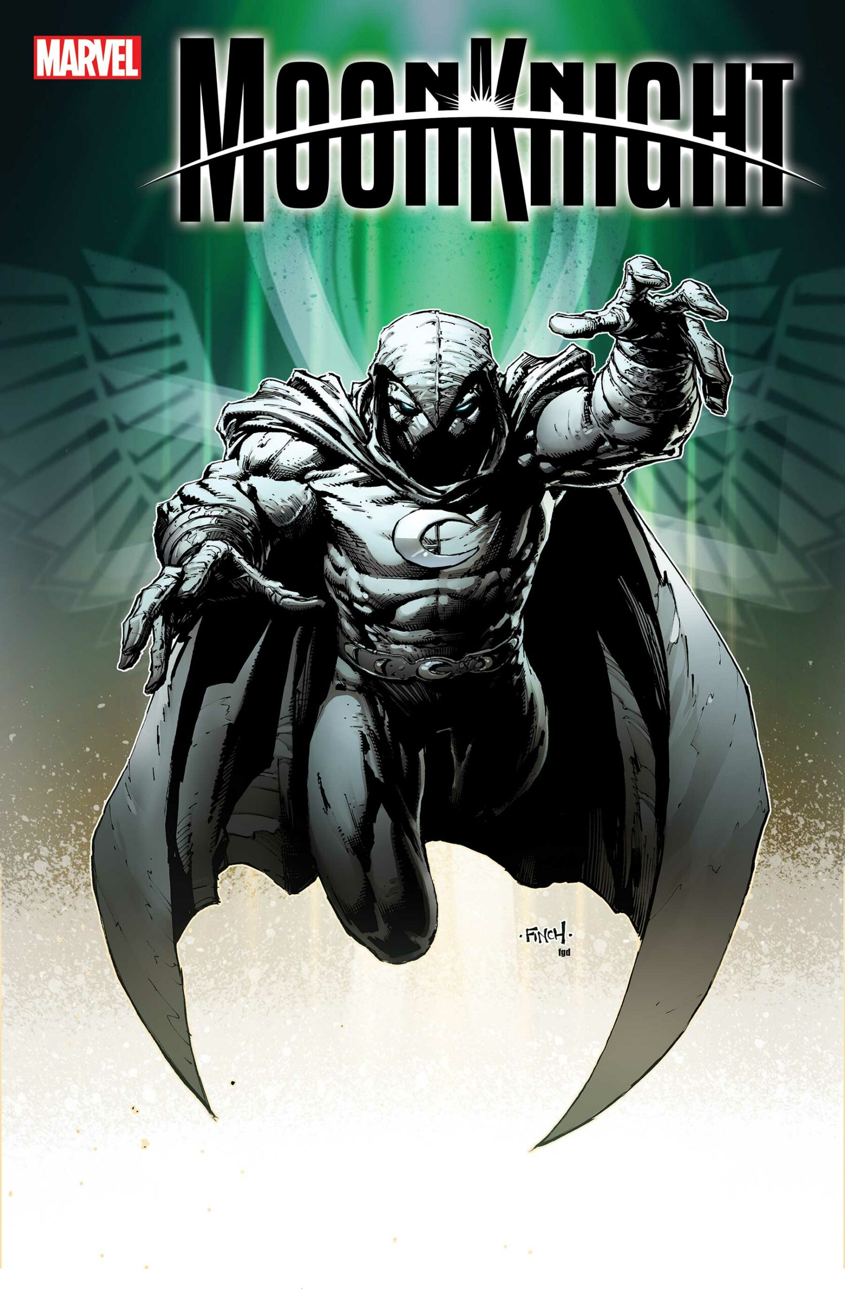 MOON KNIGHT #2 - Finch Variant Cover