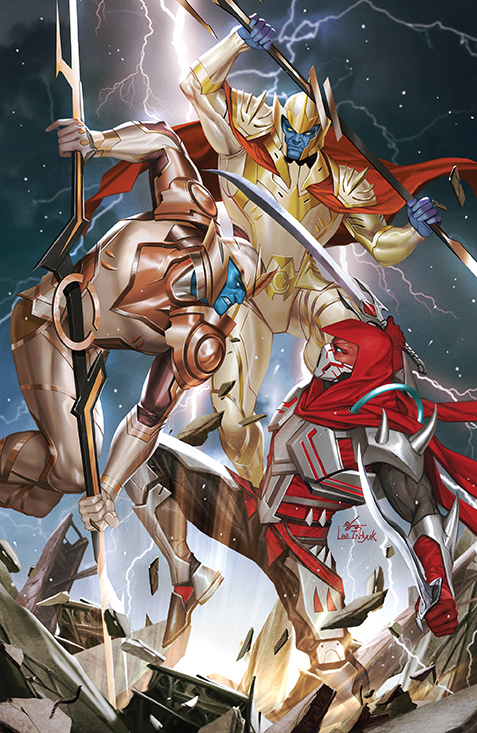 Mighty Morphin #10 - Cover A