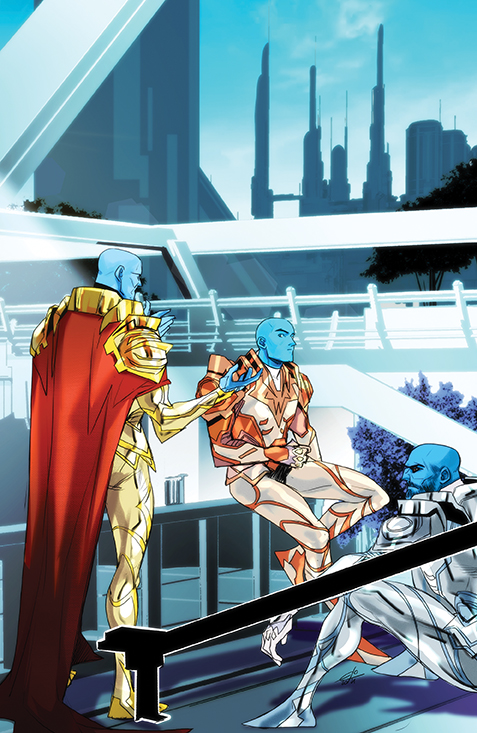 Mighty Morphin #10 - Cover B