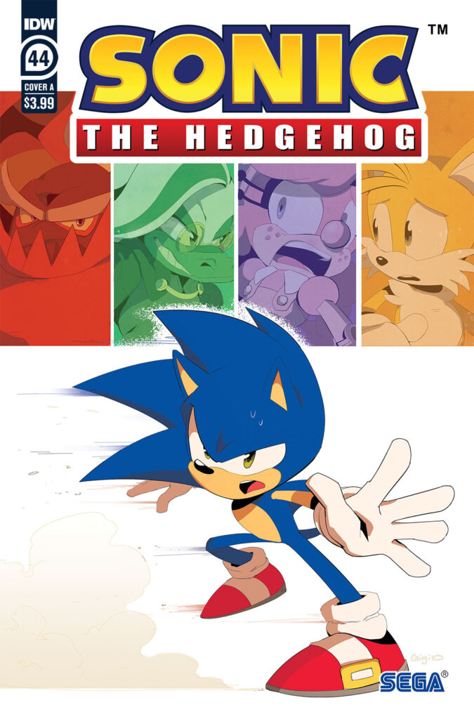 Sonic the Hedgehog #44 - Cover A