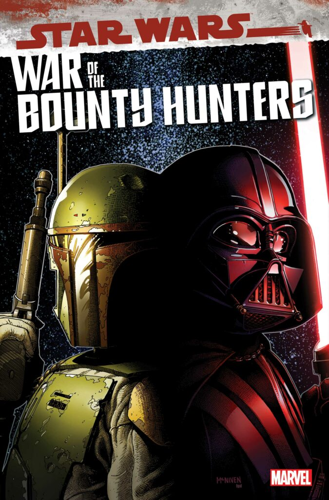 STAR WARS: WAR OF THE BOUNTY HUNTERS #3 - Main Cover