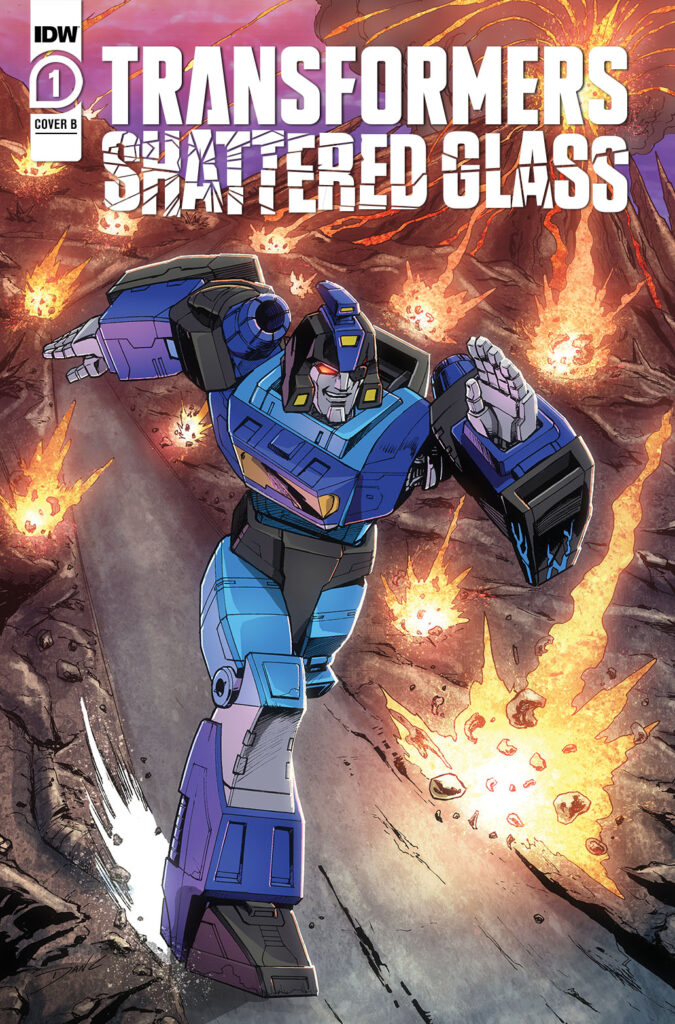 Transformers: Shattered Glass #1 - Cover B